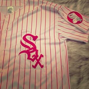 XL Red and White Chicago White Sox Jersey
